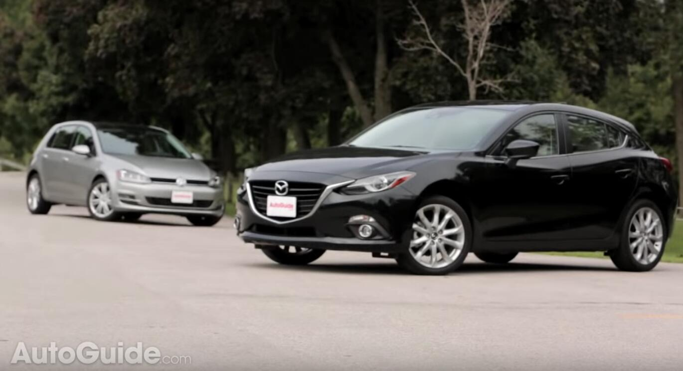 Volkswagen Golf vs Mazda3