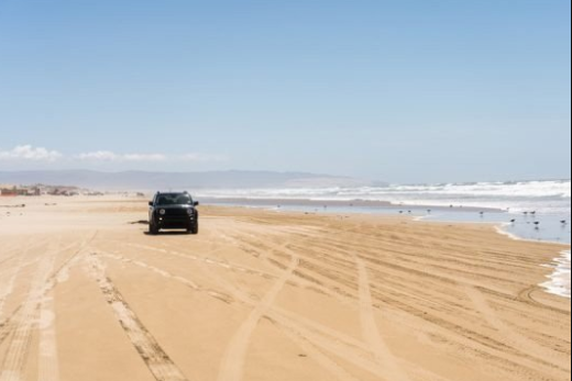 keep your car in the beach